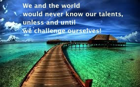 Challenges? Think twice!